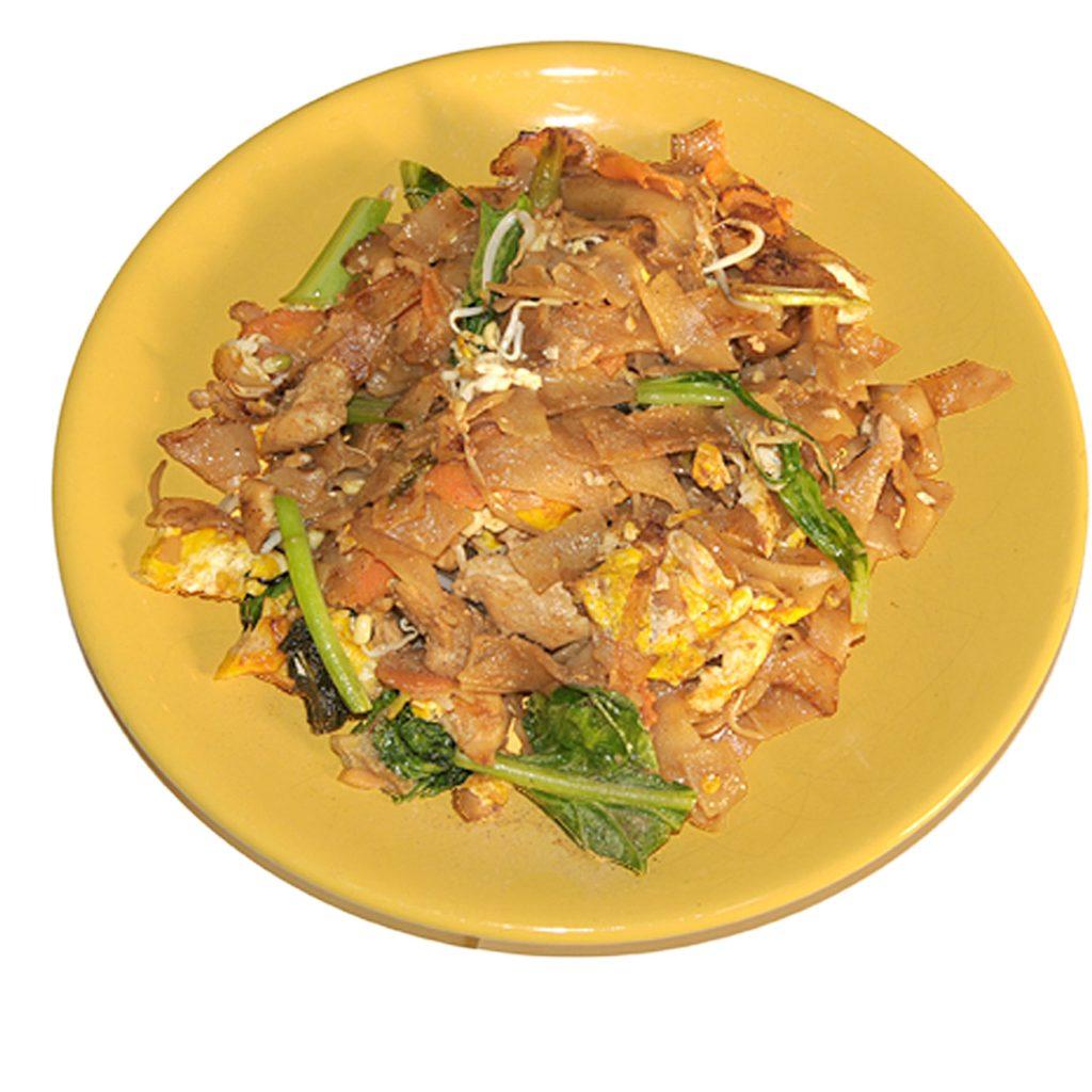 Breite Reisnudeln mit Thaibroccoli