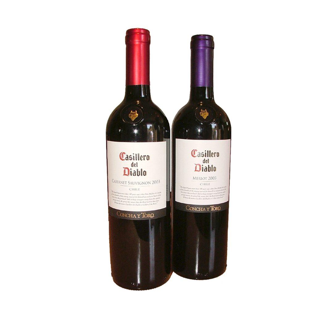 Eine Flasche Wein Rot 0.75l