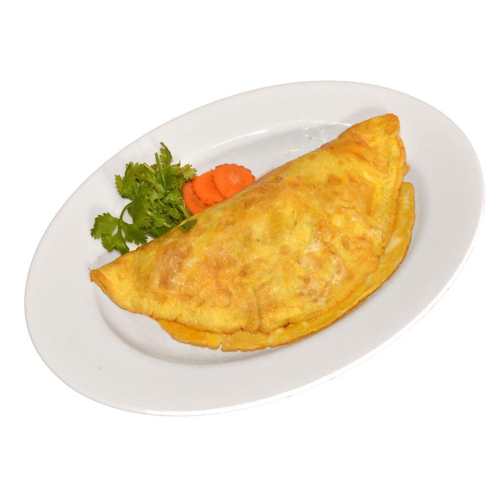 Omelette mit Fleisch oder Gemüse